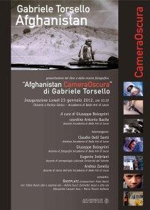 Afghanistan Camera Oscura di Kash Gabriele Torsello
