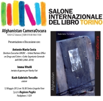 Afghanistan CameraOscura al Salone del Libro Torino