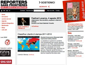 Festival Locarno - Kash con RSF