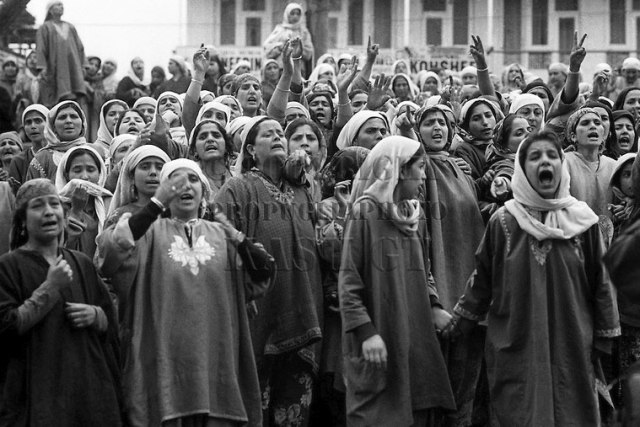 Kashmir, Donne in Protesta © Kash Gabriele Torsello